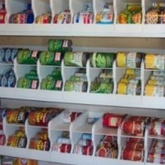 Canned Food Storage Pantry And Design On Pinterest: Pantry, Can Storage And Storage On Pinterest