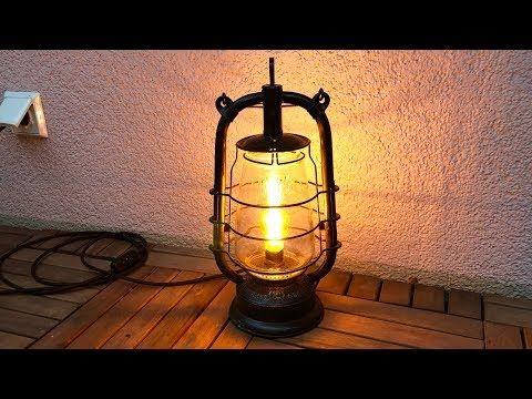 Led Petroleum Sturmlampe Bauen Diy Youtube Diy Lampenschirm Dekor Und Diy Lampen