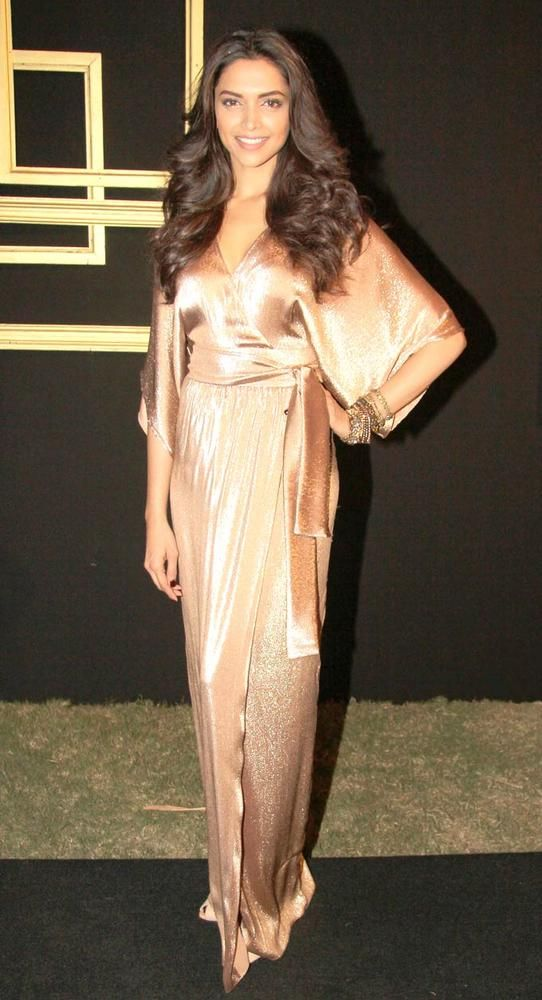 Deepika Padukone at her bash. #Fashion #Style #Bollywood #Beauty