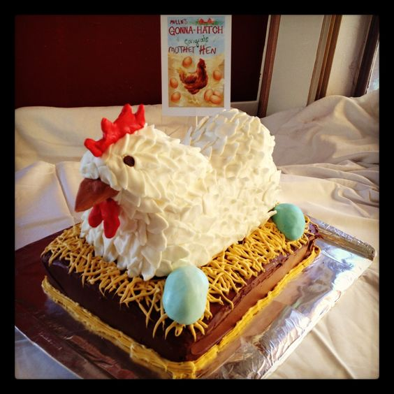 Mother Hen Cake: Fun Food, Chicken Cake, Cake Creations, Fancy Cakes, Cookies Cupcakes, Awesome Cakes, Cakebakin Friends, Birthday Cakes