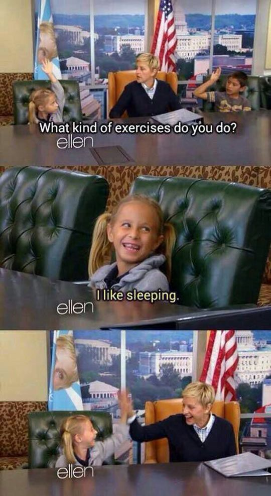 This Is My Kind Of Exercise