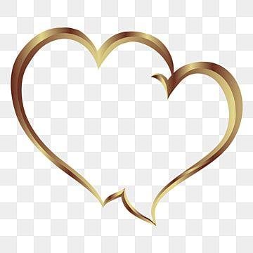 Marco De Dos Corazones Brillantes Con Fondo Transparente Enamorado Lustroso Corazones Png Y Vector Para Descargar Gratis Pngtree Frame Border Design Gold Circle Frames Flower Line Drawings
