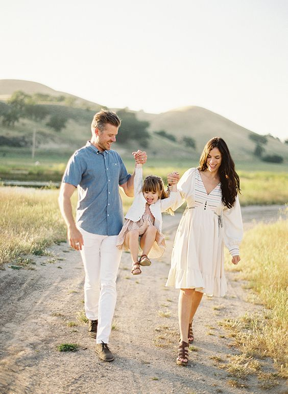 Family shoot by Jose Villa as seen in Magnolia Rouge Magazine - the Rustic Issue
