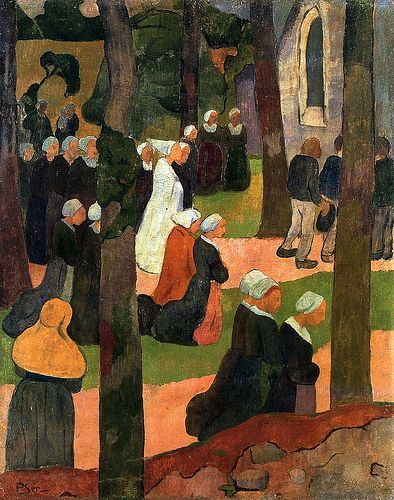 Serusier, Paul le (French, 1864-1927) - A Breton Sunday - 1890