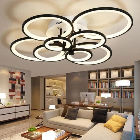 Modern Led Ceiling Lights With Remote Controller Lighting Fixtures Eperiod Led Lig Remote Control Living Room Living Room Lighting Led Ceiling Light Fixtures Remote control ceiling light fixtures