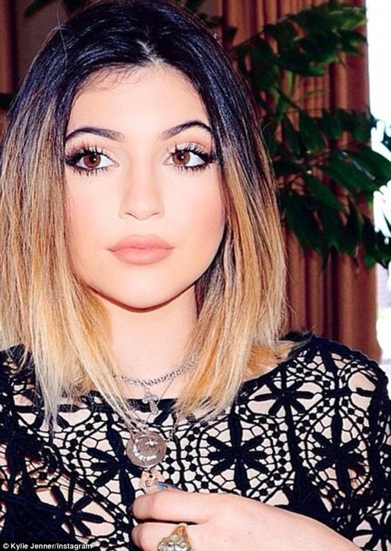 Not faking it: Kylie Jenner has slammed rumors she has had plastic surgery