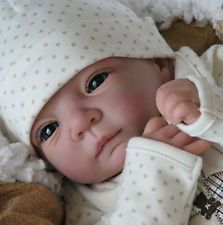 """New Reborn Baby Doll Kit FINN By Linde Scherer@New Light & Soft Vinyl@ 20"""""""