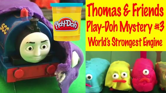Thomas and Friends Play-Doh Edition 3! World's Strongest Mystery Engine