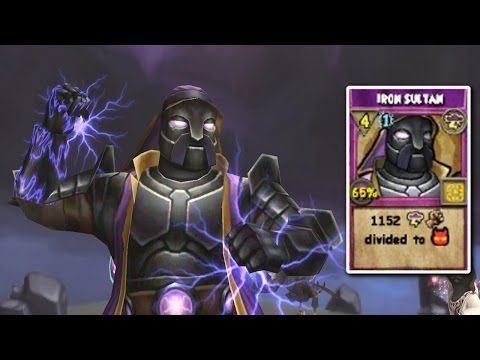 Wizard101 New Level 118 Storm Spell Iron Sultan Youtube