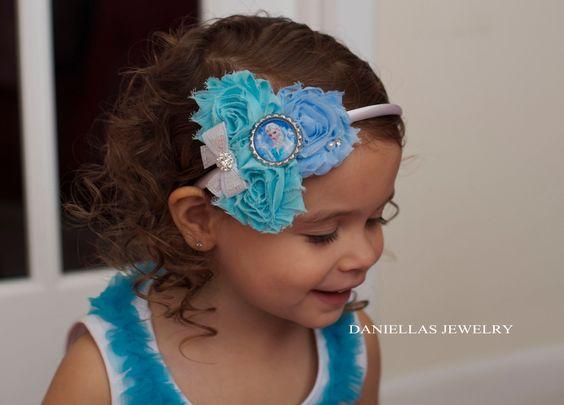 Princess Elsa Inspired Headband.Frozen headband/frozen by Daniellasjewels on Etsy https://www.etsy.com/listing/176306654/princess-elsa-inspired-headbandfrozen