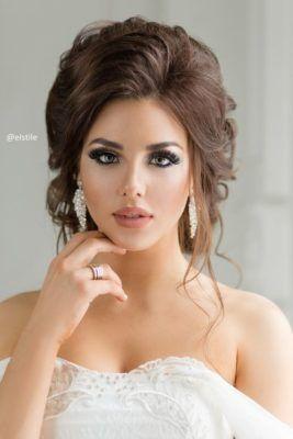 -•♥ صور مكياج عروس روعة 2018 من تجميعي ♥•-