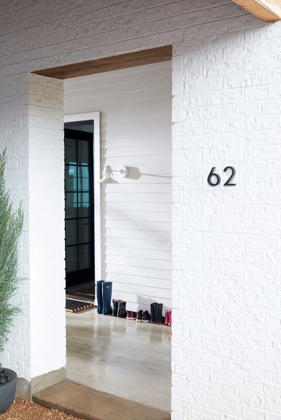 Neutra Modern House Numbers Design Within Reach Modern House