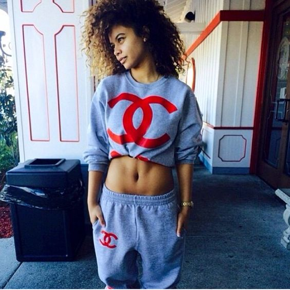 nice chanel jogging outfit video