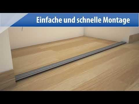 Optimum Schiebetur Set Weiss Grau 180 X 250 Cm Bauhaus Schiebetur Set Kniestock Bauhaus Schiebetur