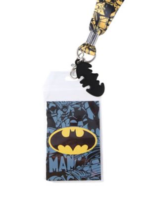 DC Comics Batman Yellow Comic Lanyard