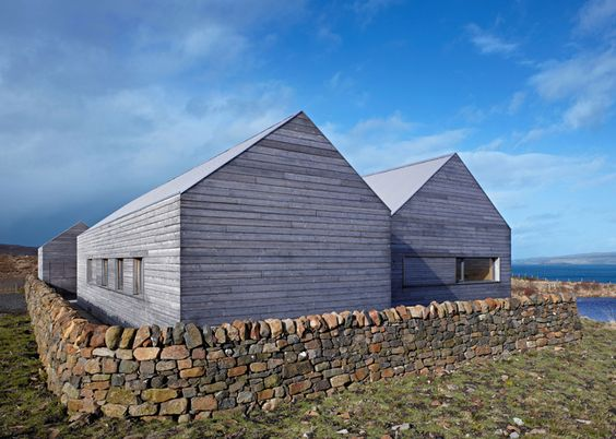 Boreraig House, on the Scottish Isle of Skye