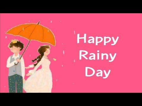 Happy Rainy Day Whatsapp Statusbarish Statusbarish Poetry