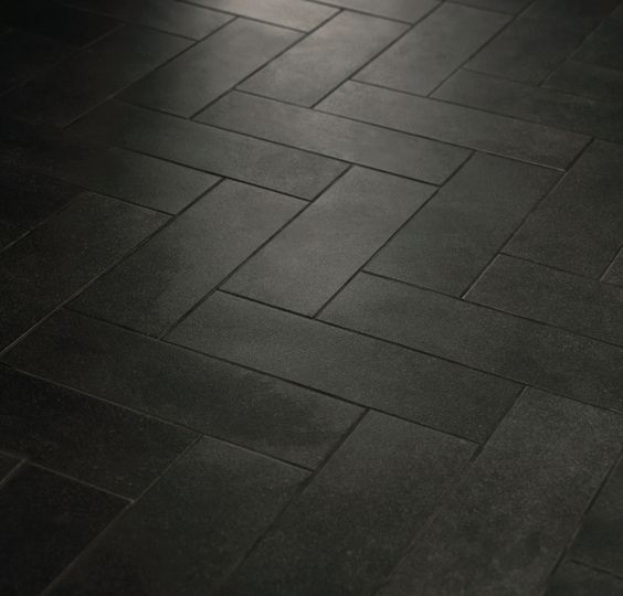Floors Black Boutiques Texture Floors Herringbone Pattern Tile Masters