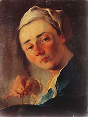 Franz Anton Maulbertsch Selbstbildnis Belvedere.jpg