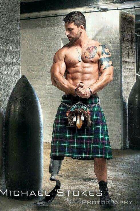 hot scots in kilts