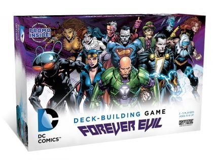 The newest stand-alone expansion for the DC Deckbuilding Game, Forever Evil!