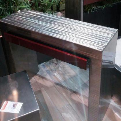Meuble console tiroir métal www.loftboutik.com
