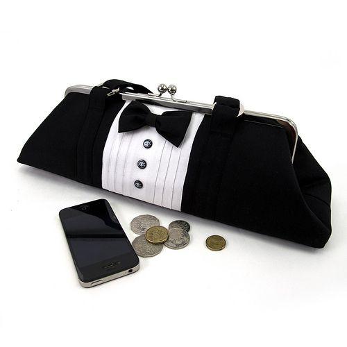 Tuxedo Purse/Bag