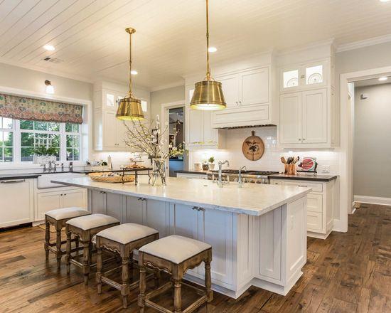20 Stunning Farmhouse Kitchen Design Ideas Farmhouse Kitchen Design White Kitchen Remodeling Stools For Kitchen Island