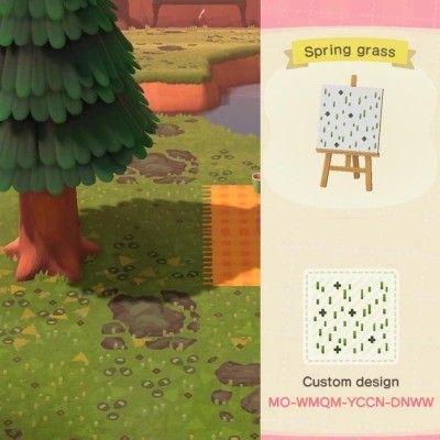 Spring Grass Animal Crossing Animal Crossing Qr New Animal Crossing