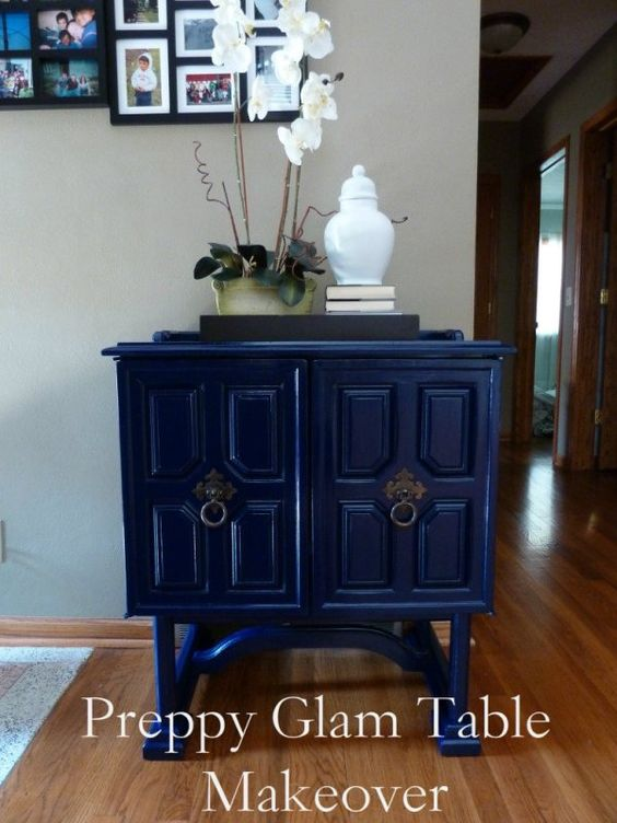 bliss at home refinish furniture with spray paint  Painting Tips