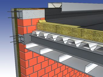 Flat roof | Knauf Insulation  Follow: http://soundproofcurtain.com