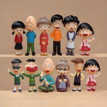 12 pçs/lote bonito dos desenhos animados figuras de fadas jardim miniaturas gnome musgo terrários mini kawaii resina artesanato casa decoração para casa(China (Mainland))