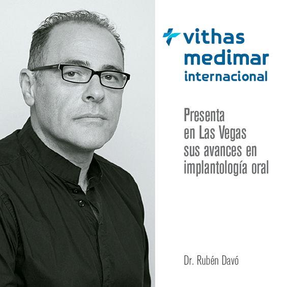 El Dr. Rubén Davó, especialista en Cirugía Oral y #Maxilofacial, ha participado en el primer #Symposium Internacional dedicado al #ImplanteCigomático.