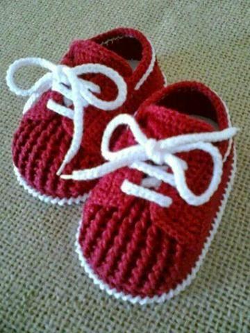Sapatos de bebê em crochê em Salvador 【 SERVIÇOS março