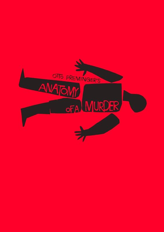 This piece of art work by Saul Bass is called Anatomy of a murder which has been produced as a film poster. Saul Bass:  Born: May 8th 1920 the bronx new york city Died april 25th 1996 los angeles california united states. Education: james monroe high school, brooklyn college, art students league of new york.