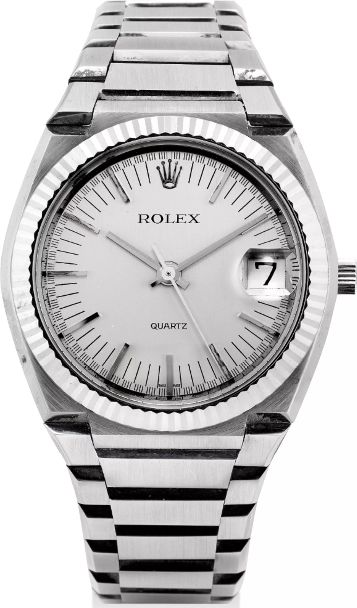 Rolex Ref. 5100 Beta 21 18k White Gold Quartz