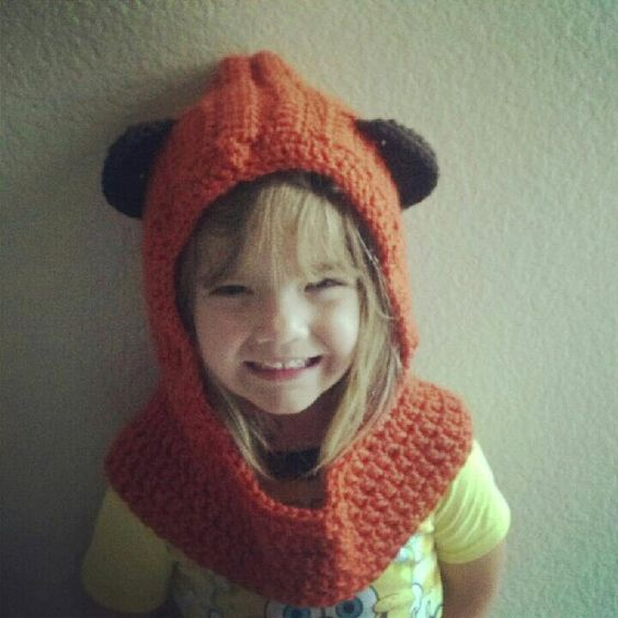 Ewok hooded Cowl PDF pattern USD ~via CrochetAFlower Hats ...