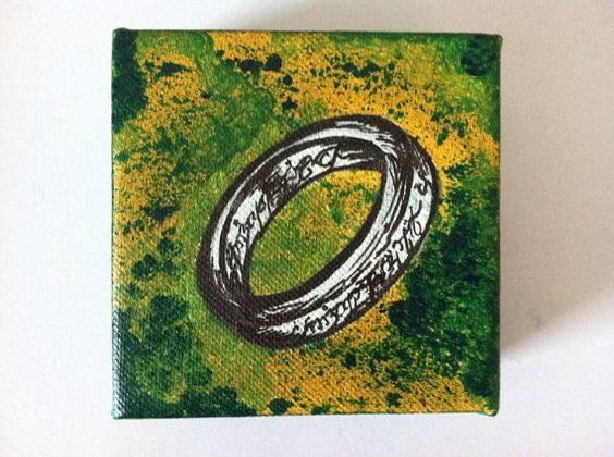 The One Ring on Etsy, $10.00