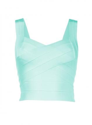 Strappy Bandage Crop Top,  Top, Strappy Bandage Crop Top, Chic