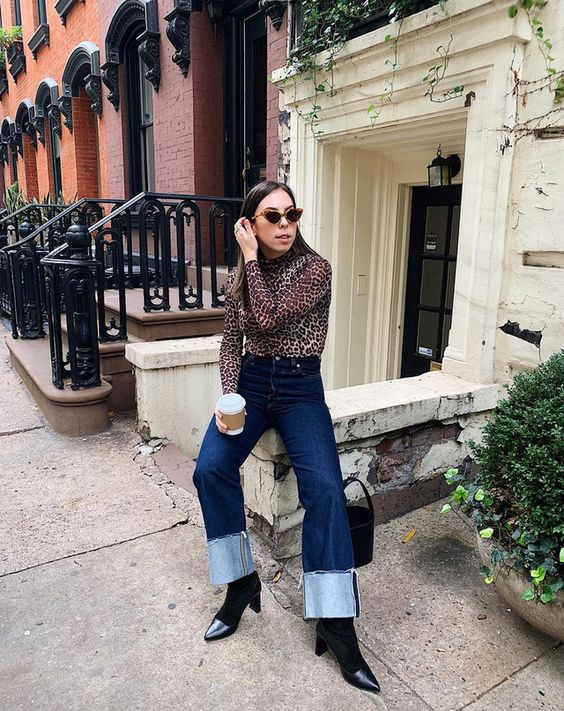 Why Wide Cuffed Jeans Are The Next Big Denim Trend