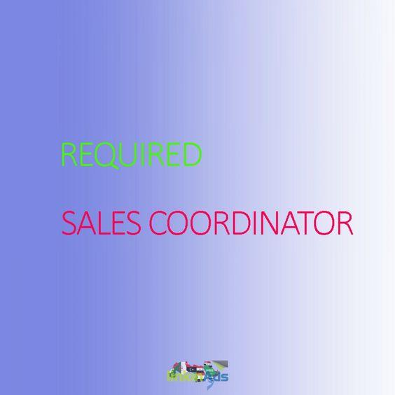 Hiring Sales Coordinator linkinads Advertisement Pinterest