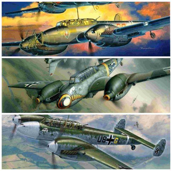 Messerschmitt Bf 110, el Destructor
