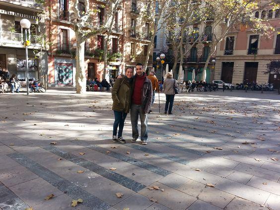 Ya es Otoño por #Barcelona. Nos encanta como está Gracia, nuestro barrio.