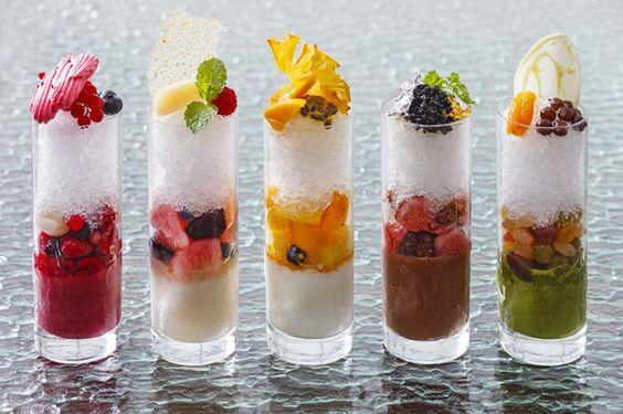 フルーツたっぷりおしゃれかき氷