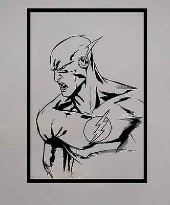Dc Comics Wall Art a3 dc comics the flash wall art vinyl decal home decor sticker