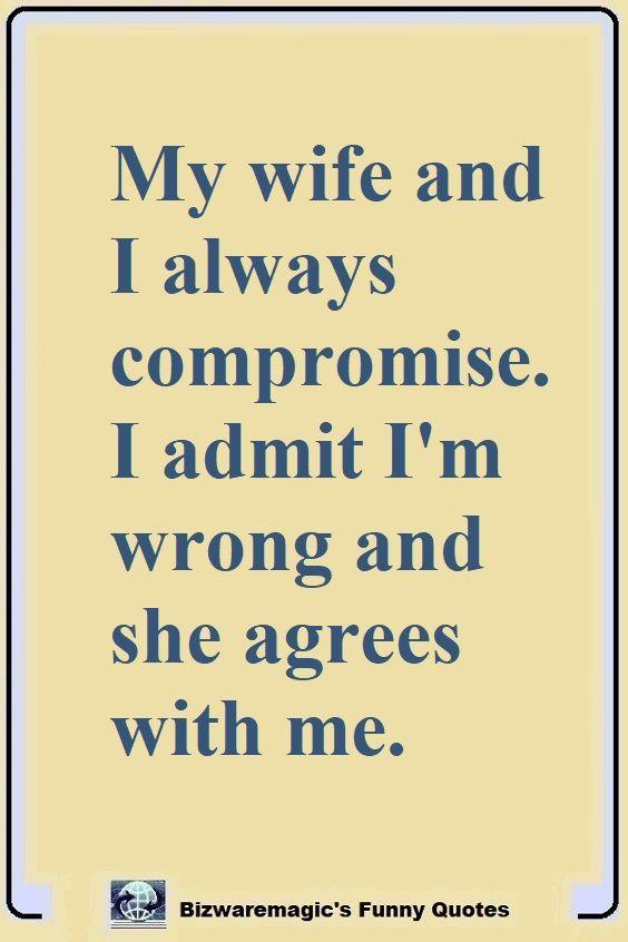 Funny Wife Quotes : funny, quotes, Funny, Quotes, Bizwaremagic, Quotes,, Wife,, Wedding