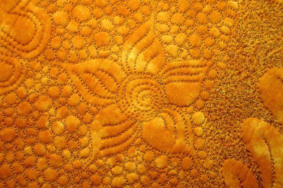Bedrucktes Panel und Richelieu-Deckchen als Quiltvorlage › BERNINA Blog
