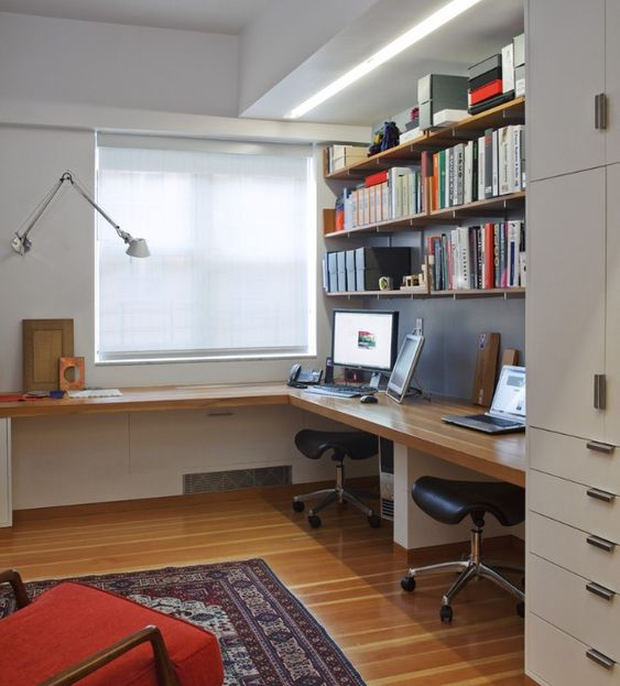 like the built in timber desk tops for office that wraps round built home office desk builtinbetter