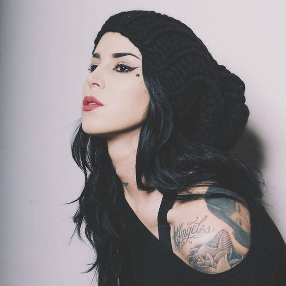 Kat von D // Inked // face // beauty