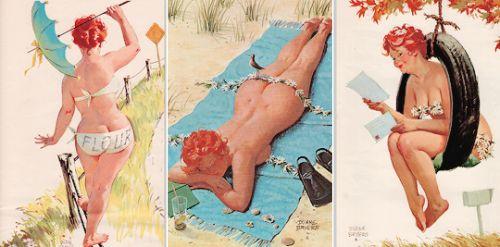 """vintagegal:  """"Hilda"""" byDuane Bryers c. 1960s-1970s"""